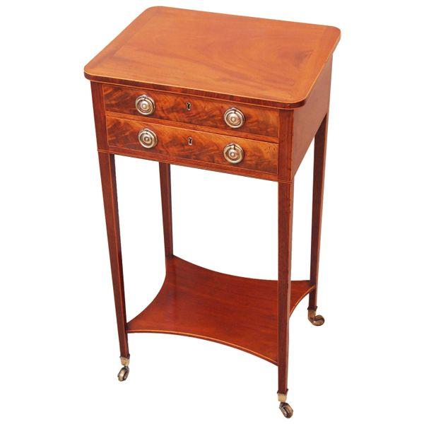 Mahogany 18th Century Georgian Antique Lamp Table