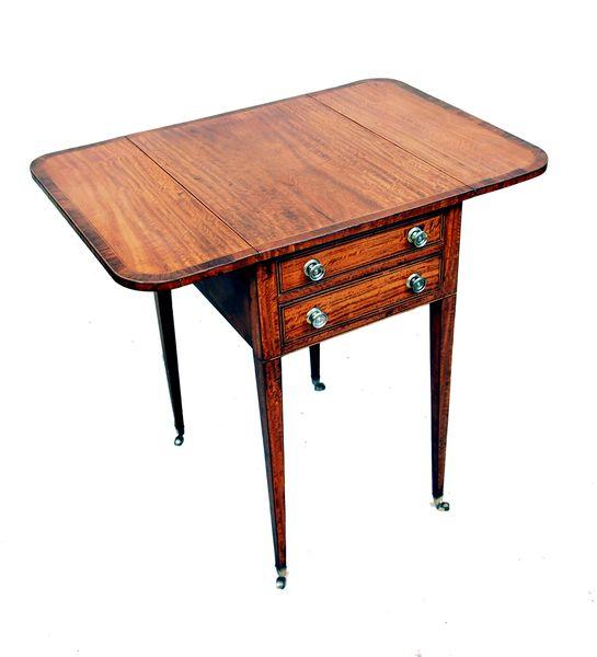 Antique Georgian Satinwood Pembroke Table