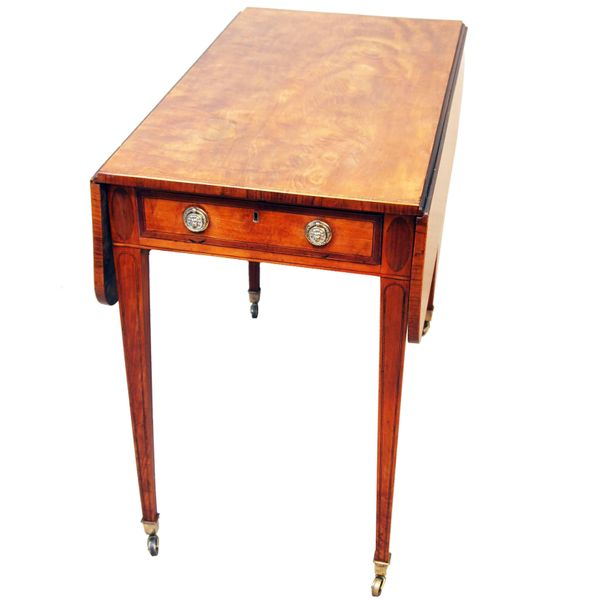 Antique Georgian Satinwood Pembroke Table
