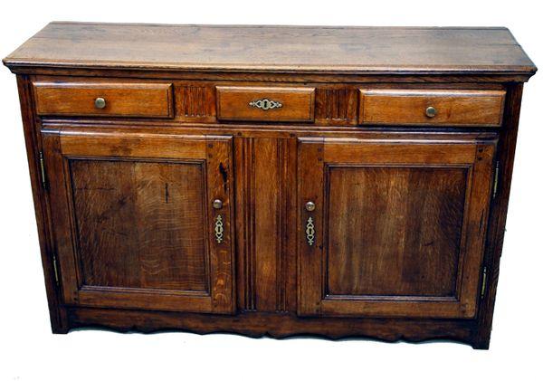 Antique French Oak Dresser