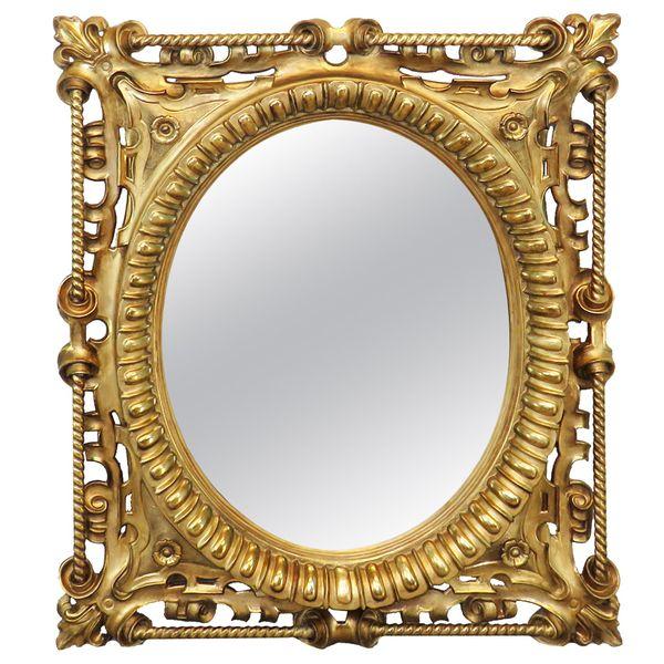 19th Century English Giltwood Wall Mirror